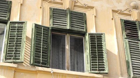 Old Damaged Windows Footage