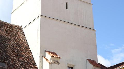 Old Clock Watchtower Footage