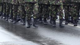Platoon Marching Footage