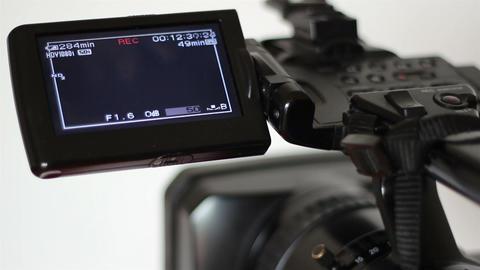 Tape Camera Recording Display Footage