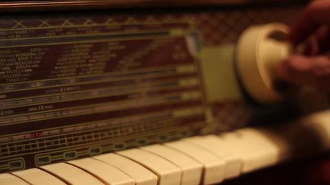 Tuning A Retro Radio Footage