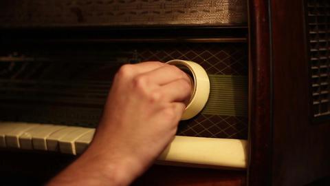 Tuning Old Radio Footage