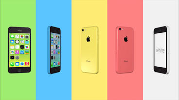S IPhone5c Element3D stock footage