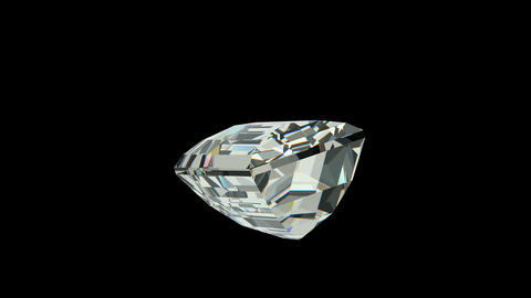 Baquette cut diamond Animation