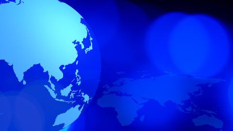 Social media internet world blue background Animation