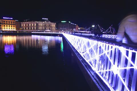 Geneva At Christmas stock footage