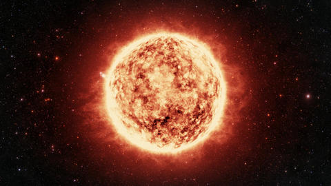 Realistic Sun stock footage