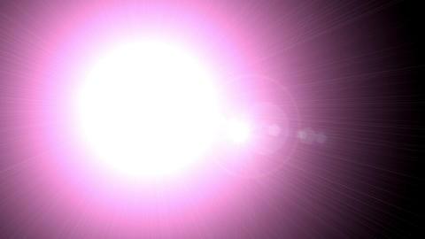 レンズフレア Animation