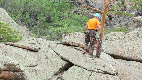 Rock climber Live Action