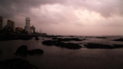 20120618 Bandra 019 stock footage
