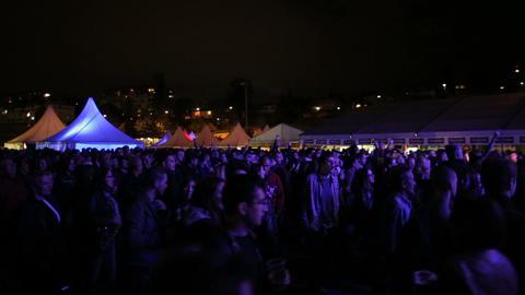 Concert crowd Footage