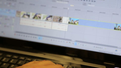 Editing Software stock footage