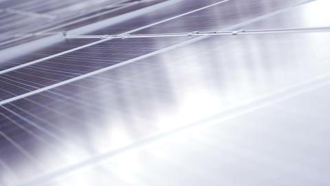 Solar panels Footage