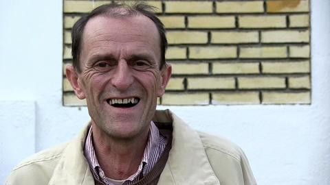 Man Laughing stock footage