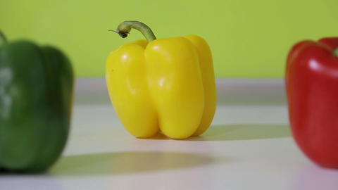 Three Peppers stock footage