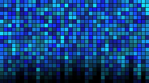 Blinking Tiles Background - Loop Blue Animation