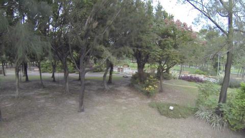 drone pilot landing drone - asian kid running Footage