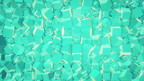 Cubic background Animation