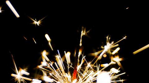 Sparklers fire sparks Footage