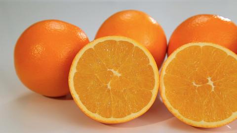 Organic orange fruits Footage