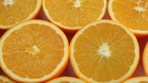Orange fruits background Footage
