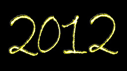 2012 NEW YEAR Stock Video Footage