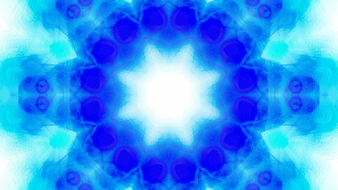 blue flower lotus pattern,orient fancy texture.Buddhism... Stock Video Footage