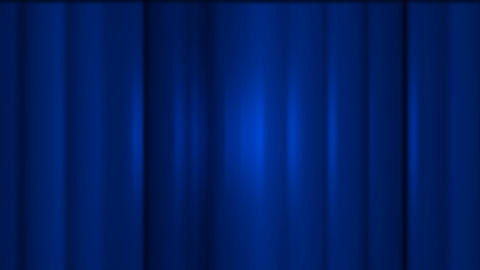blue stage curtain,metal... Stock Video Footage