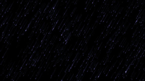 blue meteor shower at... Stock Video Footage