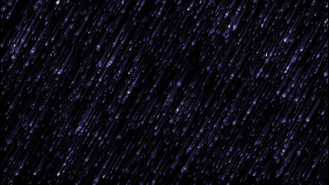 blue meteor shower at night.Jewelry,thunderstorms,hail,curtains,drapes,chain,particle,Design Animation