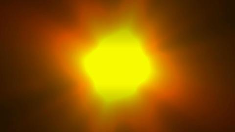 gold sun... Stock Video Footage