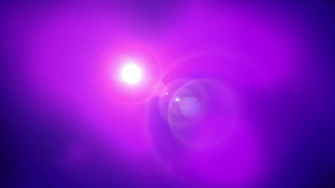 halo and purple smoke... Stock Video Footage