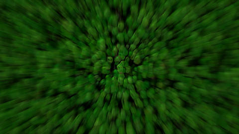 abstract green cells and virus background,blur... Stock Video Footage