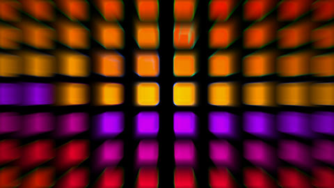 color rectangle matrix disco background.square,texture,animation,color,rainbow,squares,colorful,geom Animation