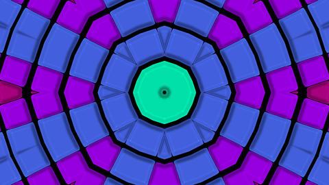 color circle mosaics disco... Stock Video Footage