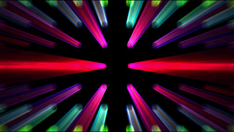 color rays light,neon... Stock Video Footage