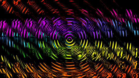 color water ripple,glass material... Stock Video Footage