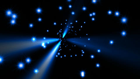 star field,blue ray light in space.dust,energy,god,heaven,night,religion,shine,sky,stars Animation