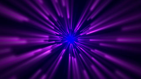 star field,blue and purple ray light in... Stock Video Footage