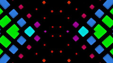 color mosaics matrix,flash disco... Stock Video Footage
