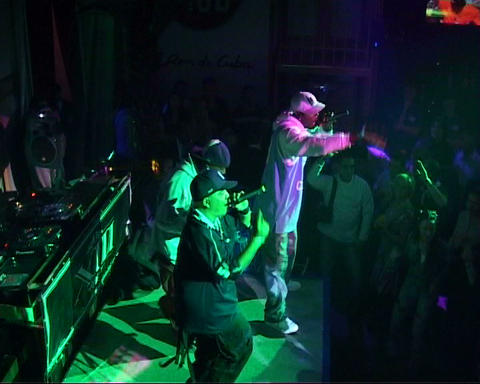 nightclub dancer Stock Video Footage