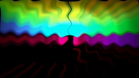 color wave light background,power magnetic field.flash,flowing,fluid,natural,organic,reflection,ripp Animation
