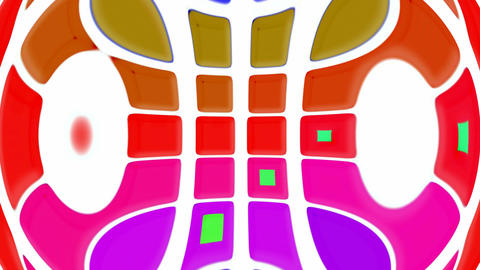 computer interface,color square deform texture.circle,light,machine,pattern,pipe,technology,round,ri Animation