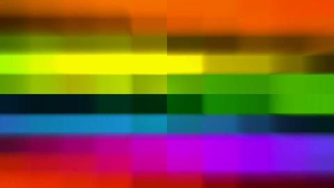 color grid electronic television... Stock Video Footage