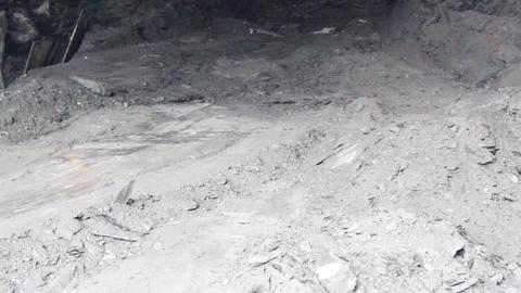 Tunnel Excavation 01 Stock Video Footage