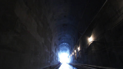 Tunnelling 04 Stock Video Footage