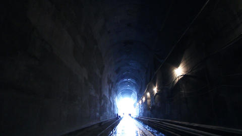 Tunnelling 06 Stock Video Footage