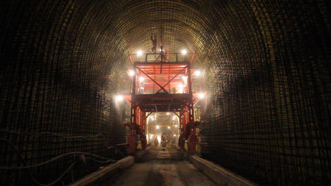 Tunnelling 08 Stock Video Footage