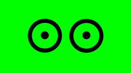 CIRCULAR SHAPED EYES Animation