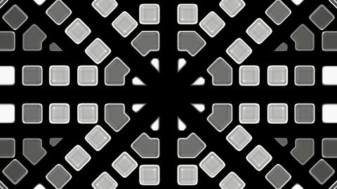gray mosaics block disco pattern,tunnel interface.cylinder,engineering,machine,pipe Animation